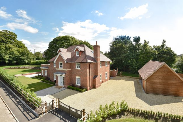 Thumbnail Detached house for sale in Romsey Road, Winchester, Hampshire