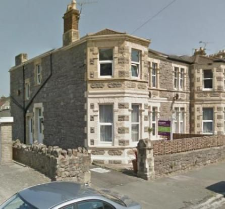 Thumbnail Flat to rent in A Severn Road, Weston-Super-Mare