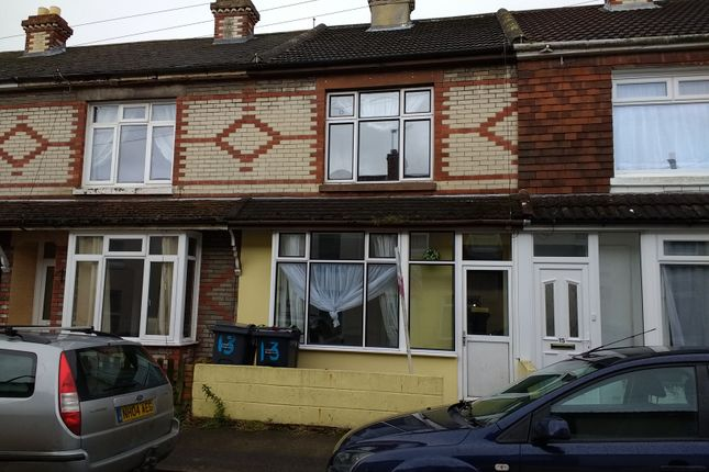 Thumbnail Terraced house to rent in Clifton Street, Gosport