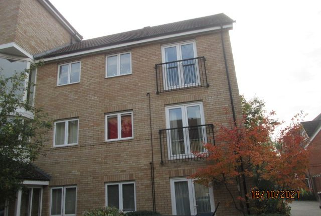 Thumbnail 2 bed flat to rent in Pippin Grove, Royston