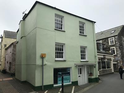 Thumbnail Retail premises for sale in 18 Buller Street, East Looe, Looe, Cornwall