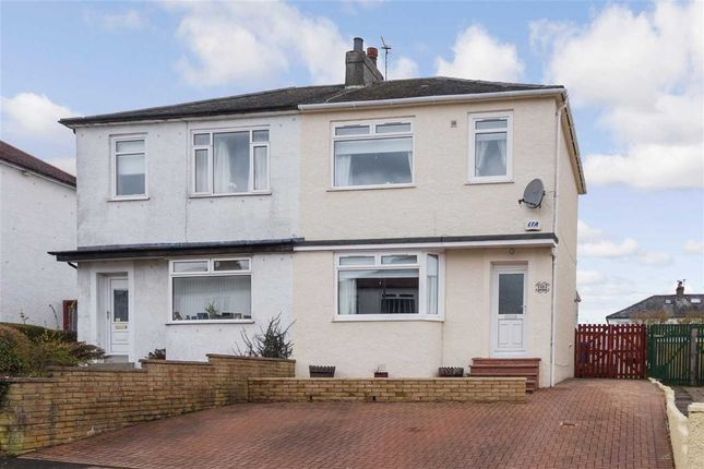 Thumbnail Semi-detached house for sale in Braefield Drive, Thornliebank, Glasgow
