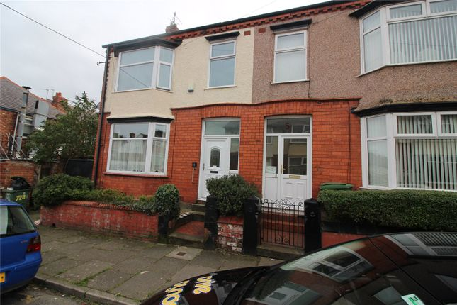 Thumbnail Terraced house for sale in Parkend Road, Birkenhead, Merseyside