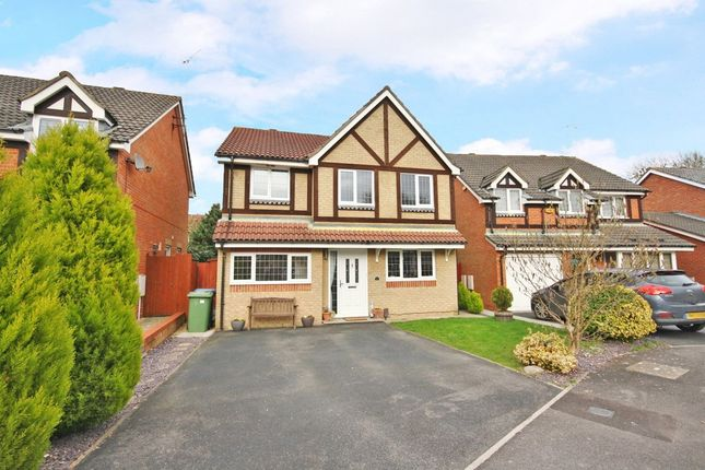 Thumbnail Detached house for sale in Fyfield Close, Whiteley, Fareham