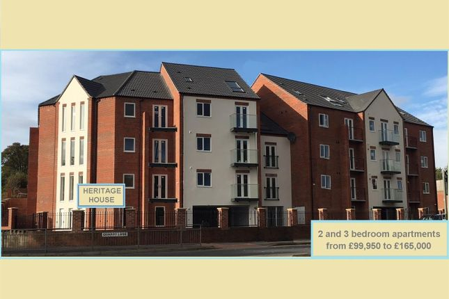 Thumbnail Flat for sale in Plot 3, Heritage House, Woodland Park View, Mansfield