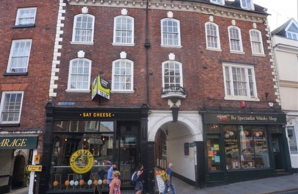 Thumbnail Commercial property for sale in Mixed Retail & Office Premises, 77 Wyle Cop, Shrewsbury, Shropshire