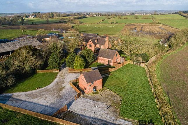 Thumbnail Property for sale in Yew Tree Farm House Wootten Lane, Eccleshall, Stafford