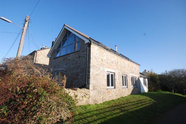 Thumbnail Detached house for sale in Lands End Road, St. Buryan, Penzance