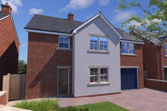 Thumbnail Detached house for sale in Christon Bank Development, Christon Bsnk, Alnwick