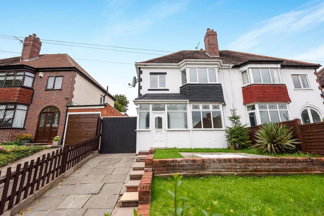 Thumbnail Semi-detached house for sale in Park Lane, Wednesbury