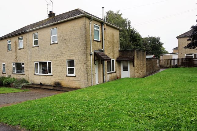 Thumbnail Semi-detached house for sale in Cranmore Place, Bath