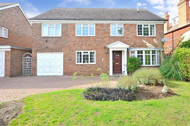Thumbnail Detached house for sale in Cherry Garden Avenue, Folkestone, Kent