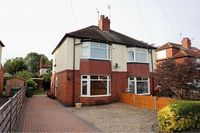 Thumbnail Semi-detached house for sale in Moorgarth Avenue, York