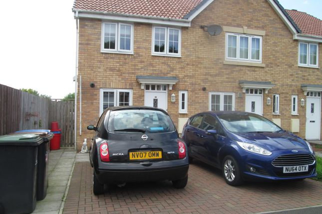 Thumbnail Semi-detached house to rent in Arkless Grove, The Grove, Consett