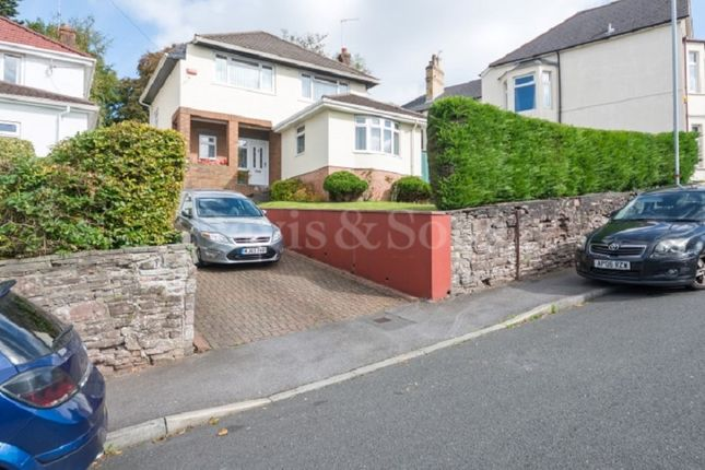 Thumbnail Detached house for sale in St. Johns Road, Off Chepstow Road, Newport.