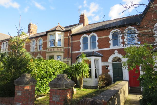 Thumbnail Terraced house for sale in Church Avenue, Penarth