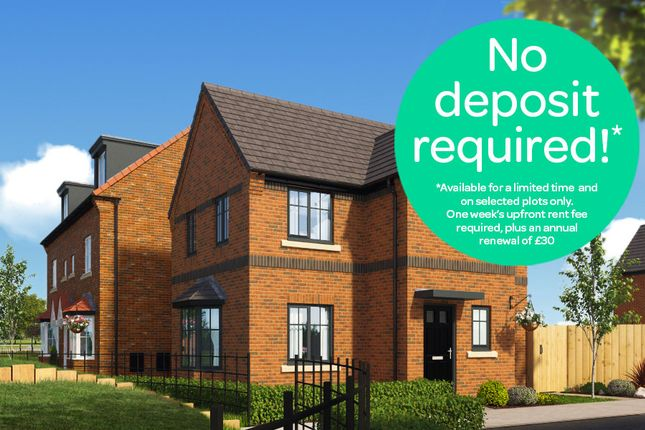 Thumbnail Detached house to rent in Castlemilk Court, Winsford