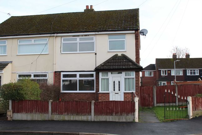 Thumbnail Semi-detached house to rent in Rose Avenue, Irlam, Manchester