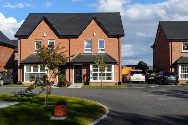 3 bed semi-detached house for sale in Millmount Village Park, Dundonald, Belfast BT16
