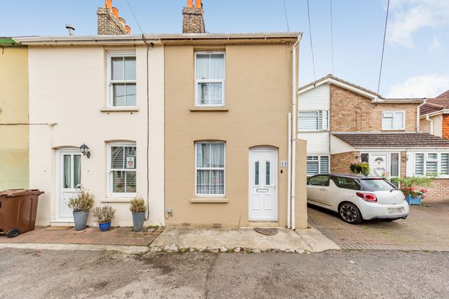 Thumbnail End terrace house for sale in Castle Street, Upnor, Rochester