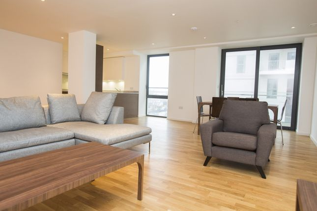 Thumbnail Flat to rent in Honour Lea Avenue, Olympic Park, London