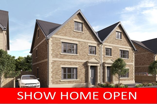Thumbnail Semi-detached house for sale in 3 The Plains, Scotby, Carlisle