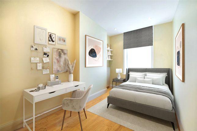 Bedroom of Robsart Mansions, Kenton Street, London WC1N