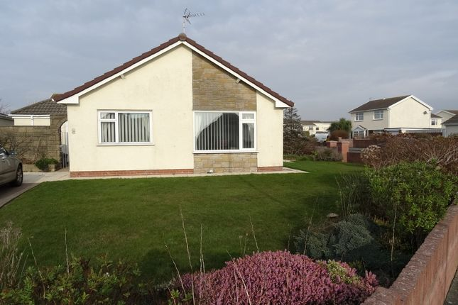 Thumbnail Detached bungalow for sale in Anglesey Way, Nottage, Porthcawl