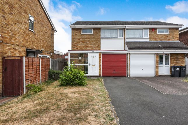 Thumbnail Semi-detached house for sale in Lonsdale Close, Stechford, Birmingham