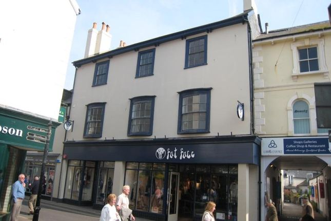 Thumbnail Flat to rent in Fore Street, Sidmouth, Devon