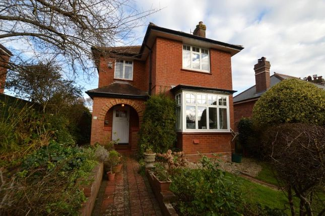 Thumbnail Detached house for sale in East Wonford Hill, Heavitree, Exeter, Devon
