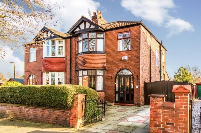Thumbnail Semi-detached house for sale in Hulme Road, Heaton Chapel, Stockport, Cheshire