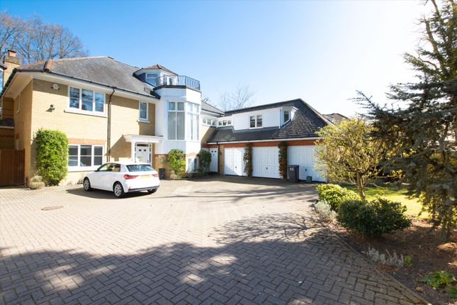 Thumbnail Detached house to rent in St David's Drive, Englefield Green, Surrey