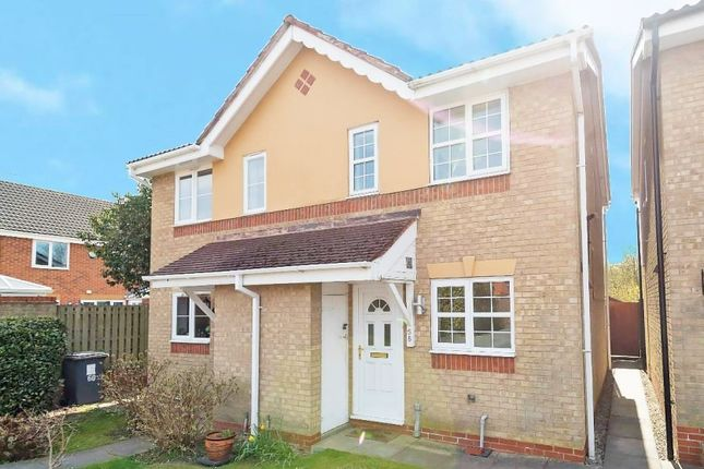 2 bed semi-detached house for sale in Silkstone Close, Castle Greasley, Swadlincote, Derbyshire DE11