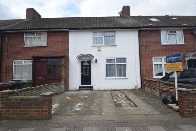 Thumbnail Terraced house to rent in Lodge Avenue, Dagenham