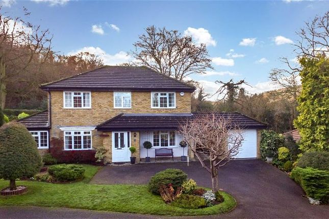 Thumbnail Detached house for sale in The Hawthorns, Beechwood Park, Herts