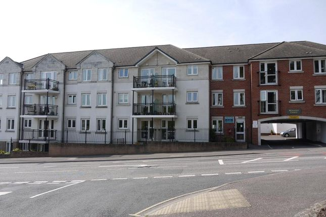 Thumbnail Flat to rent in Minster Court, West Street, Axminster, Devon