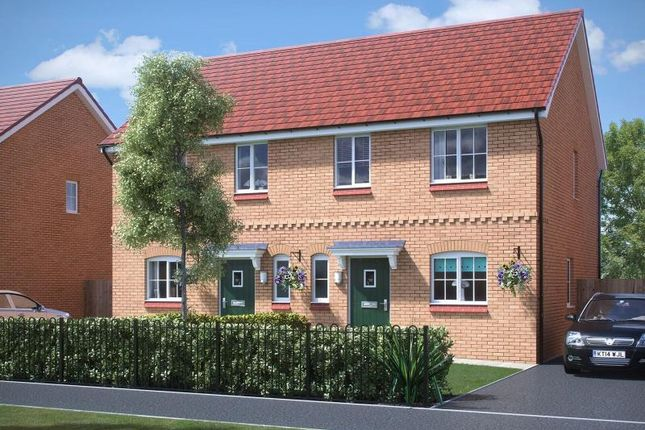Thumbnail Semi-detached house to rent in Plot 146, Ambrose Walk, Tower Hill