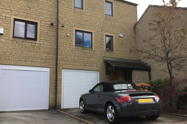 Thumbnail Town house for sale in Hauxley Court, Ilkley