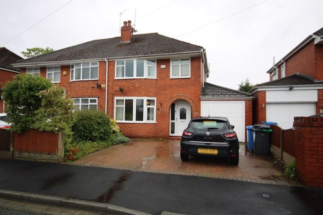 Thumbnail Semi-detached house for sale in Lynham Avenue, Great Sankey, Warrington