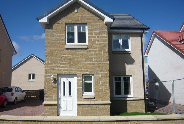 Thumbnail Detached house to rent in Oakley Road, Saline, Dunfermline
