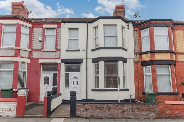 Thumbnail Terraced house for sale in Claughton Drive, Wallasey
