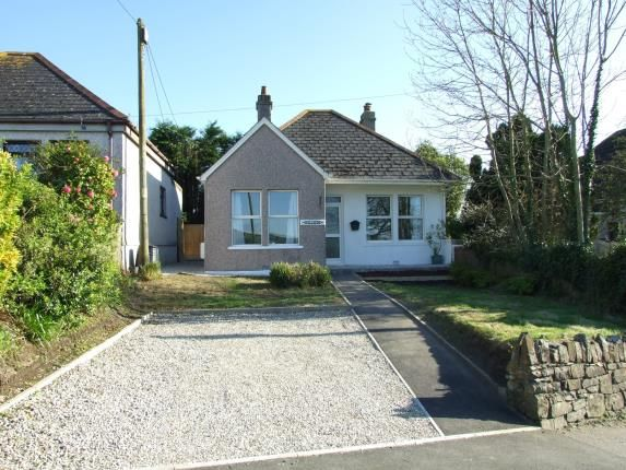 Thumbnail Bungalow for sale in Fraddon, St. Columb, Cornwall