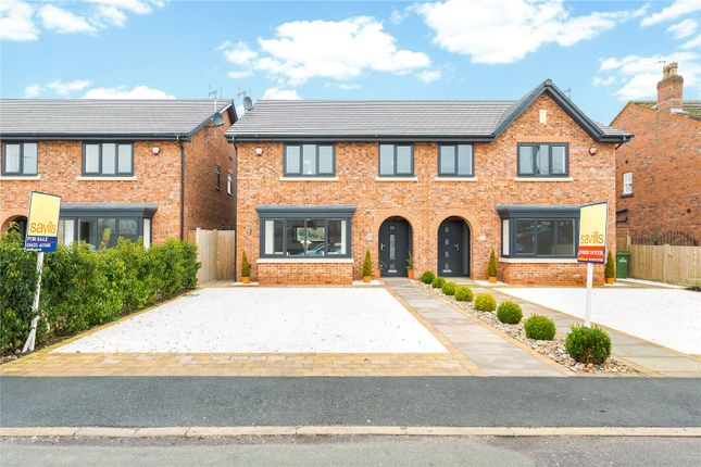 Thumbnail Semi-detached house for sale in Cumber Lane, Wilmslow, Cheshire