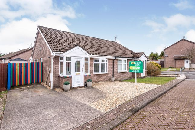 Thumbnail Semi-detached bungalow for sale in Wigmore Close, Thornhill, Cardiff