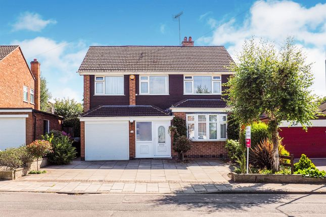 Thumbnail Detached house for sale in Queensbury Avenue, West Bridgford, Nottingham