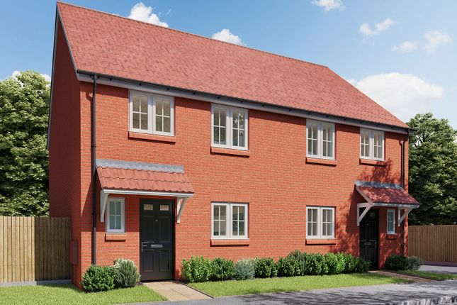 """Thumbnail Semi-detached house for sale in """"The Eveleigh"""" at Norton Road, Thurston, Bury St. Edmunds"""