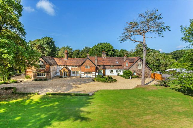 Thumbnail Country house for sale in Norwood Hill Road, Charlwood, Horley, Surrey