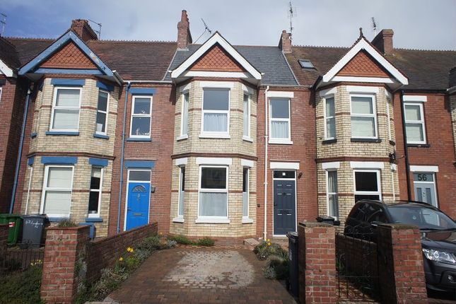 Thumbnail Terraced house to rent in Lyndhurst Road, Exmouth