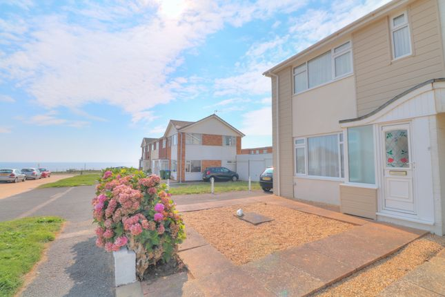 View To Sea of Deborah Terrace, Central Avenue, Telscombe Cliffs, Peacehaven BN10